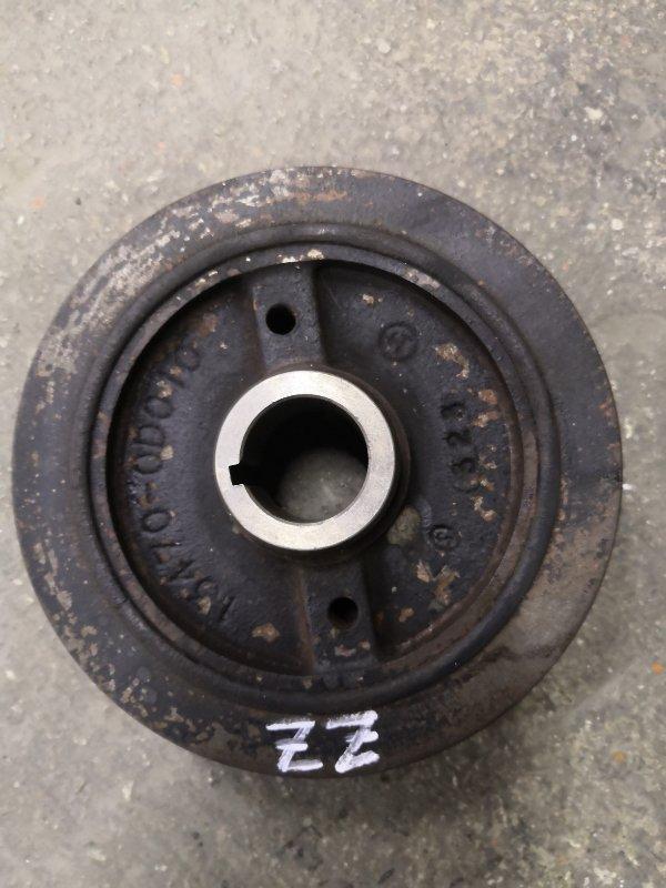 Шкив коленвала Toyota Corolla E120 3ZZ-FE 2000 (б/у)