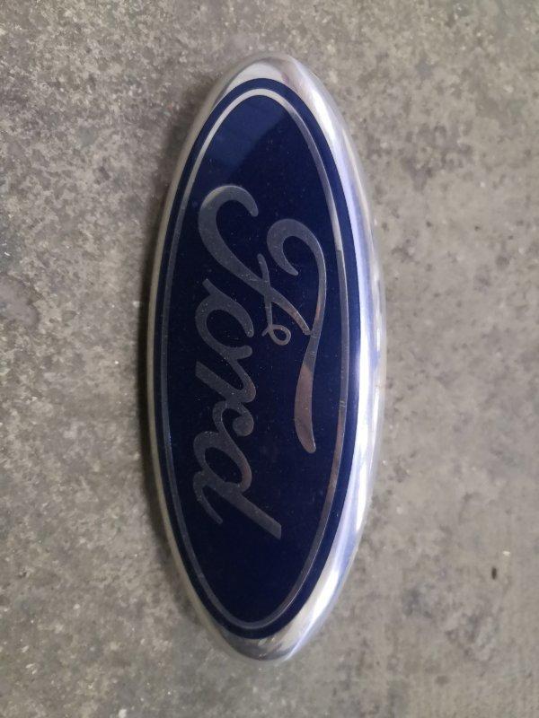 Эмблема Ford Fusion CBK FXJA 2002 задняя (б/у)