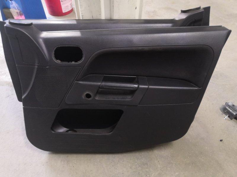 Обшивка двери Ford Fusion CBK FXJA 2002 передняя правая (б/у)