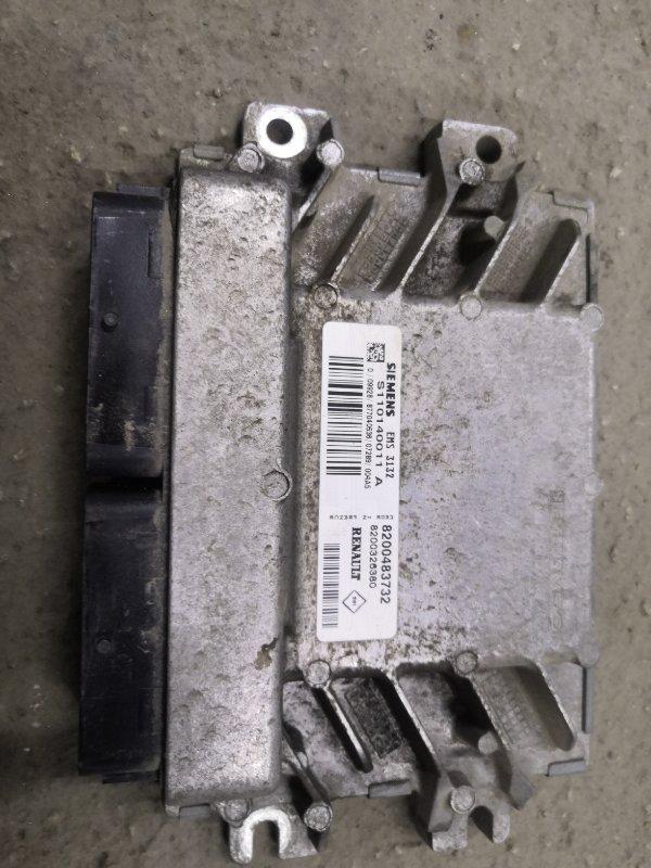 Блок управления двс Renault Logan LSOG/LS12 K7M 2004 (б/у)