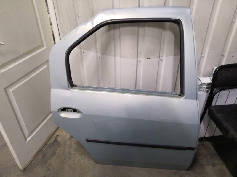 Дверь Renault Logan LSOG 2004 задняя правая (б/у)