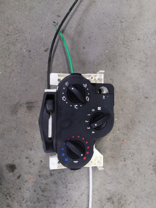 Блок управления климат-контролем Renault Logan LSOG/LS12 K7M 2004 (б/у)