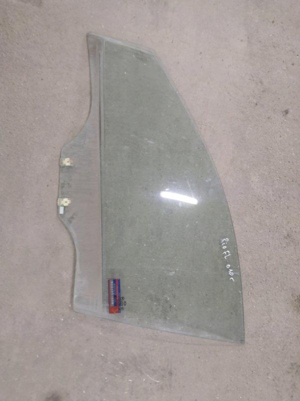 Стекло Kia Rio JB G4EE 2005_2011 переднее левое (б/у)