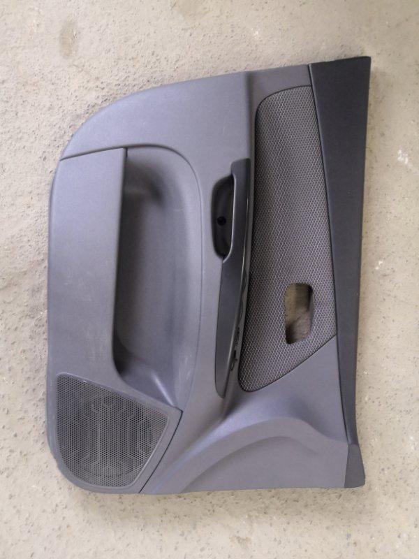 Обшивка двери Kia Rio JB G4EE 2005_2011 передняя левая (б/у)