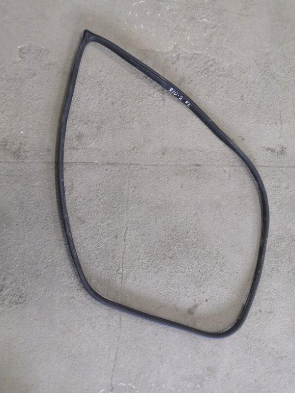 Уплотнительная резинка Kia Rio JB G4EE 2005_2011 передняя левая (б/у)