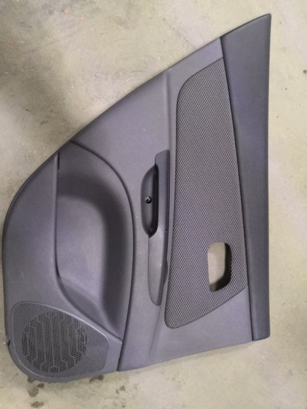 Обшивка двери Kia Rio JB G4EE 2005_2011 задняя левая (б/у)