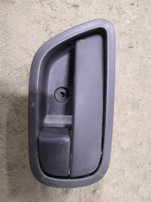 Ручка двери внутренняя Kia Rio JB G4EE 2005_2011 задняя левая (б/у)