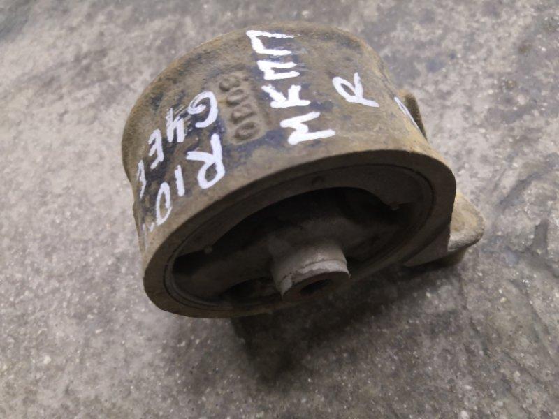Подушка двигателя Kia Rio JB G4EE 2005_2011 задняя (б/у)