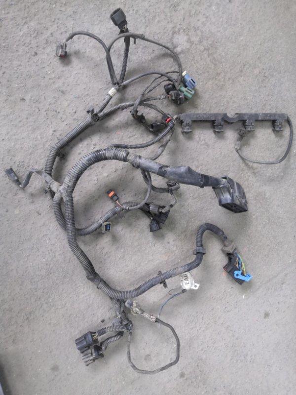 Проводка двигателя Ford Focus 2 CB4 SHDA 2008 (б/у)