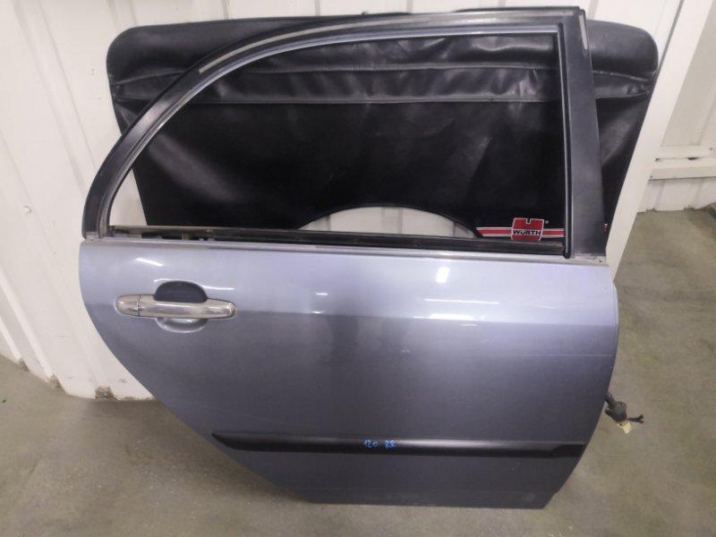 Дверь Toyota Corolla E120 2000 задняя правая (б/у)