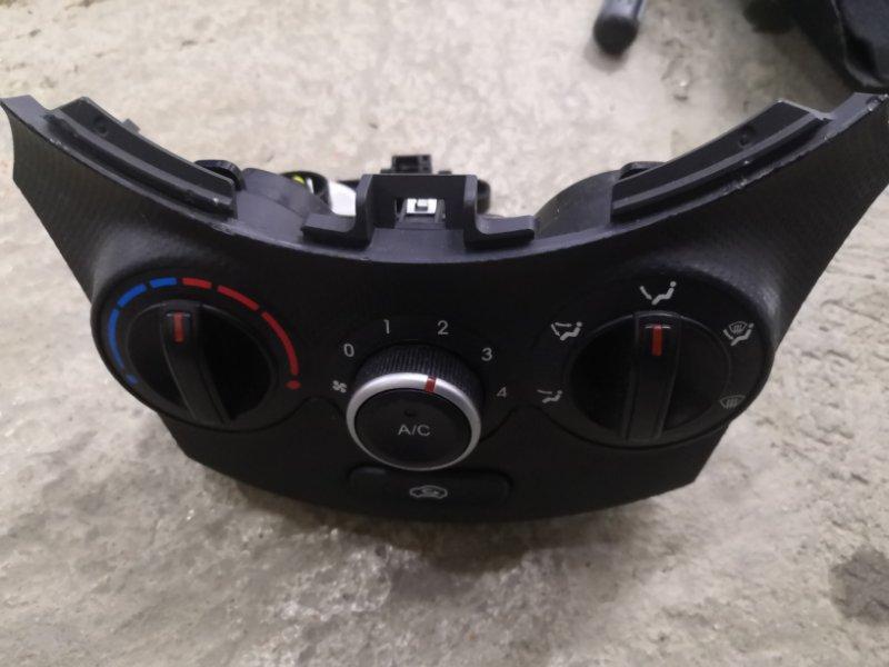 Блок управления климат-контролем Hyundai Solaris RB G4FA 2011 (б/у)