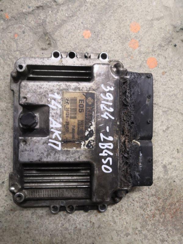 Блок управления двс Hyundai Solaris RB G4FA 2011 (б/у)