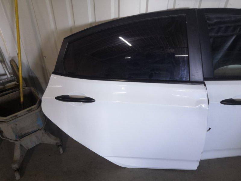 Дверь Hyundai Solaris RB G4FA 2011 задняя правая (б/у)