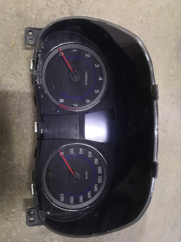 Щиток приборов Hyundai Solaris RB G4FA 2011 (б/у)