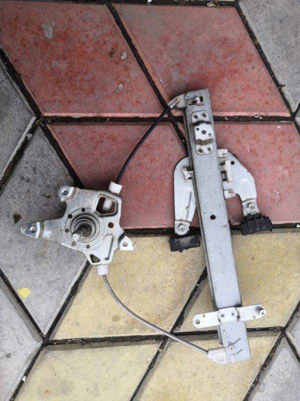 Стеклоподъемник Nissan Almera G15 K4M 2013 задний левый (б/у)