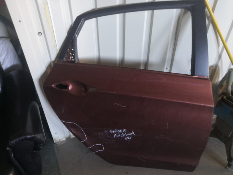 Дверь Hyundai Solaris RB 2011 (б/у)