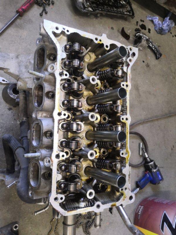 Головка блока цилиндров Toyota Rav4 X30 3ZR-FAE 2010 (б/у)
