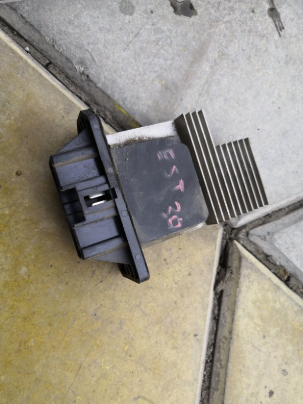 Резистор печки Toyota Estima XR30 2AZ-FE 2000 (б/у)