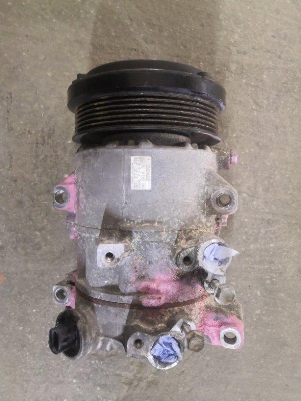 Компрессор кондиционера Toyota Camry ACV40 2AZ-FE 2006 (б/у)