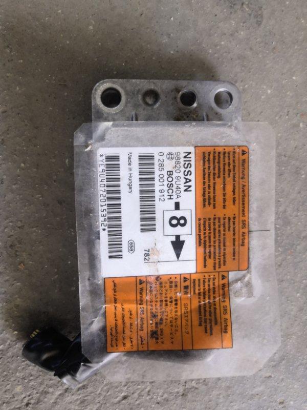 Блок airbag Nissan Note E11 HR16 2005 (б/у)