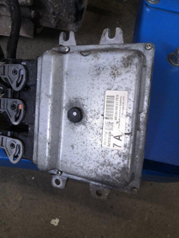 Блок управления двс Nissan Note E11 HR16 2005 (б/у)
