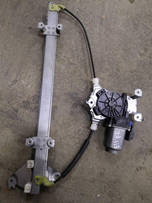 Стеклоподъемник Nissan Note E11 HR16 2005 передний правый (б/у)