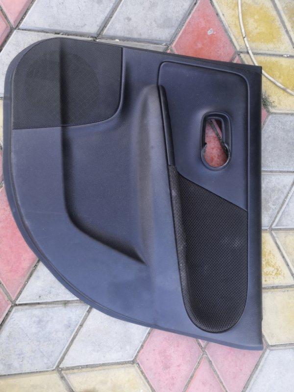 Обшивка двери Nissan Note E11 HR16 2005 задняя левая (б/у)