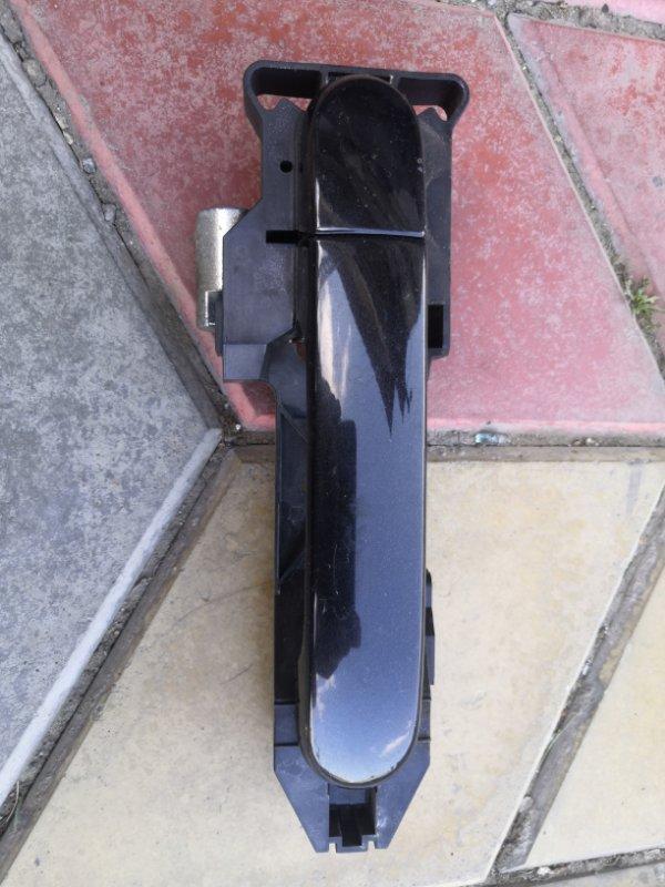 Ручка двери внешняя Nissan Note E11 HR16 2005 задняя левая (б/у)