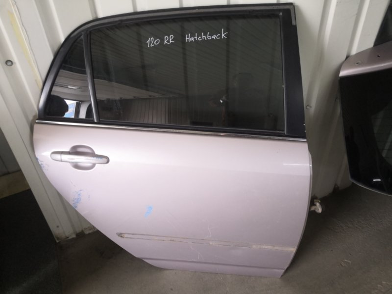 Дверь Toyota Corolla E120 1NZ-FE 2000 задняя правая (б/у)