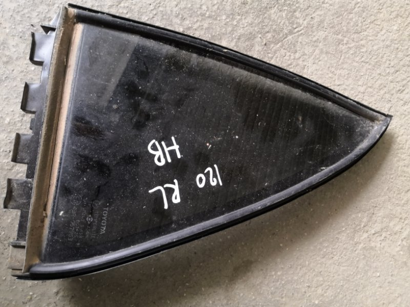 Форточка двери Toyota Corolla E120 1NZ-FE 2000 задняя левая (б/у)