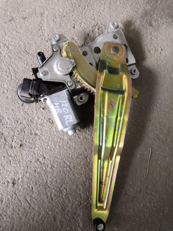 Стеклоподъемник Toyota Corolla E120 1NZ-FE 2000 задний левый (б/у)