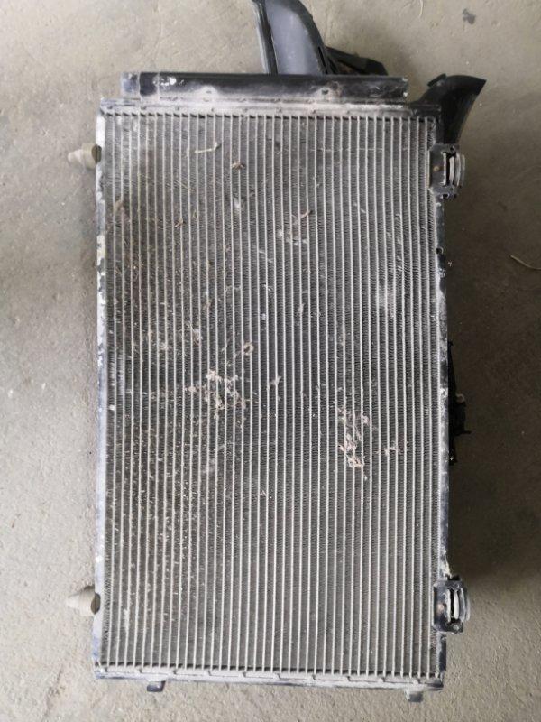Радиатор кондиционера Toyota Corolla E120 1NZ-FE 2000 (б/у)