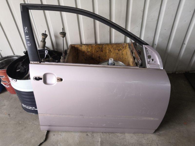 Дверь Toyota Corolla E120 1NZ-FE 2000 передняя правая (б/у)