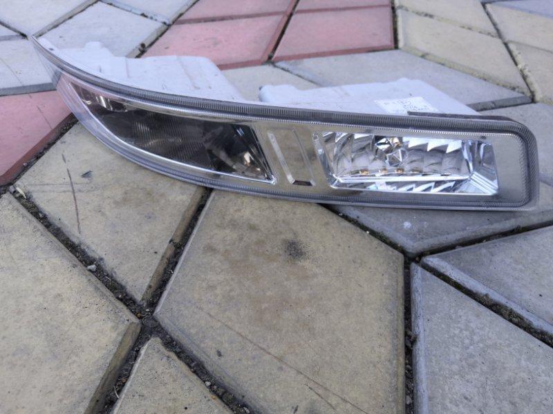 Фара противотуманная Nissan Almera Classic B10 QG16 2006 передняя (б/у)
