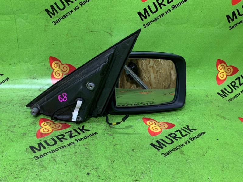 Зеркало Bmw X3 E83 2.5L N52B25A 2008 правое (б/у)