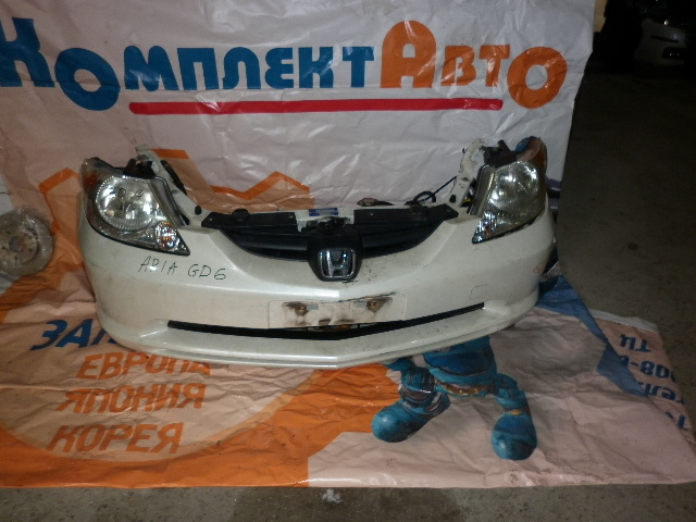 Nose cut Honda Fit Aria GD6 L13A (б/у)