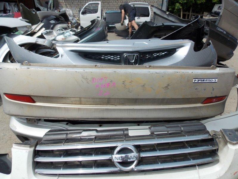 Бампер Toyota Duet M100A 2003 задний (б/у)