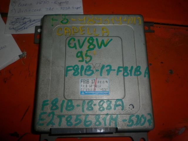 Блок управления efi Mazda Capella GV8W F8 1995 (б/у)