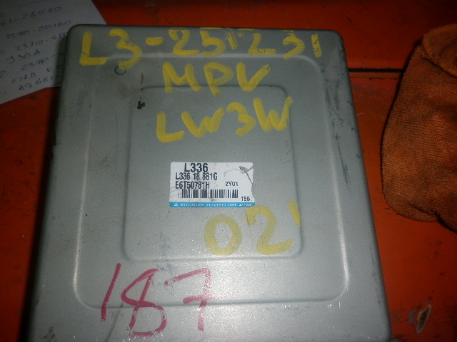 Блок управления efi Mazda Mpv LW3W L3 2002 (б/у)