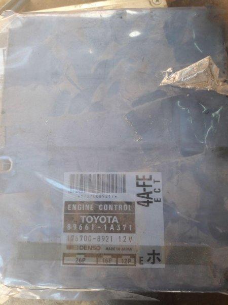 Блок управления efi Toyota Carib AE111 4A (б/у)