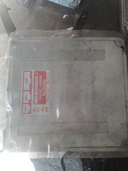 Блок управления efi Toyota Carina Ed ST181 4S (б/у)