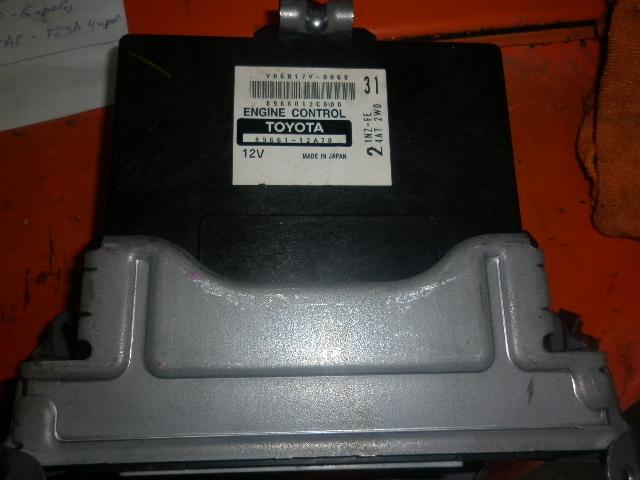 Блок управления efi Toyota Spacio ZNE121 1NZ 2006 (б/у)