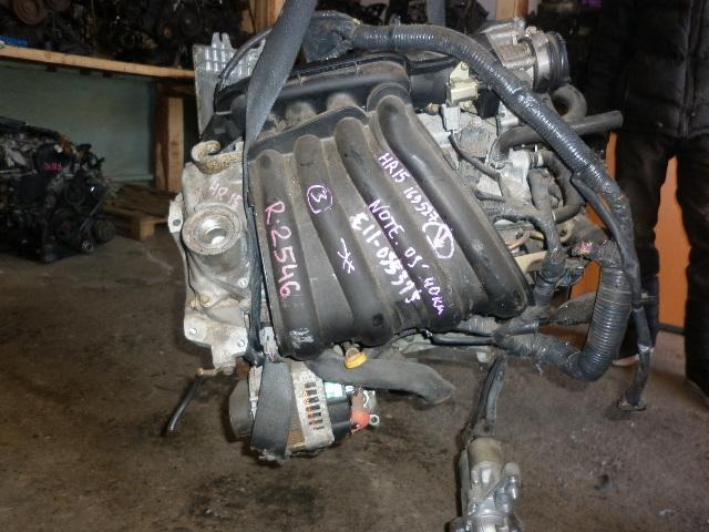 Двигатель Nissan Note E11 HR15 (б/у)