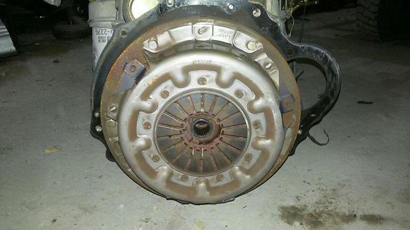 Диск сцепления Nissan Atlas N2F23 TD25 (б/у)