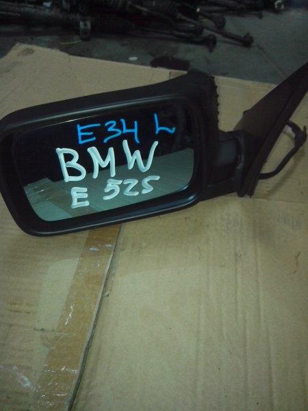 Зеркало Bmw E34 E34 до 1995 переднее левое (б/у)