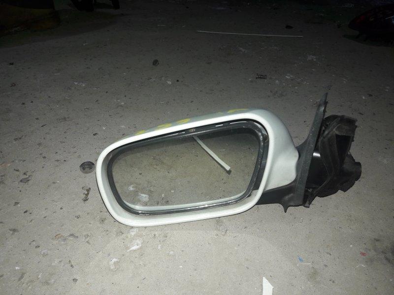 Зеркало Nissan Avenir W11 QG18 1999 переднее левое (б/у)