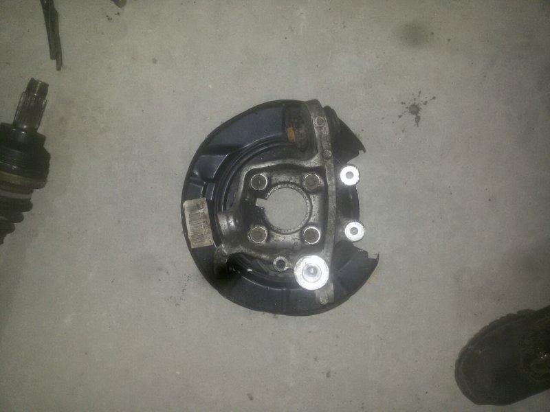 Кожух тормозного диска Bmw 5-Series E39 M54 задний левый (б/у)