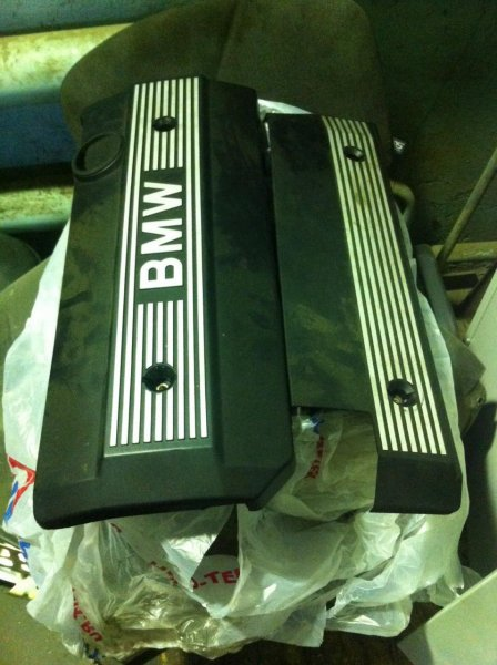 Крышка двс декоративная Bmw 5-Series E39 M54 (б/у)