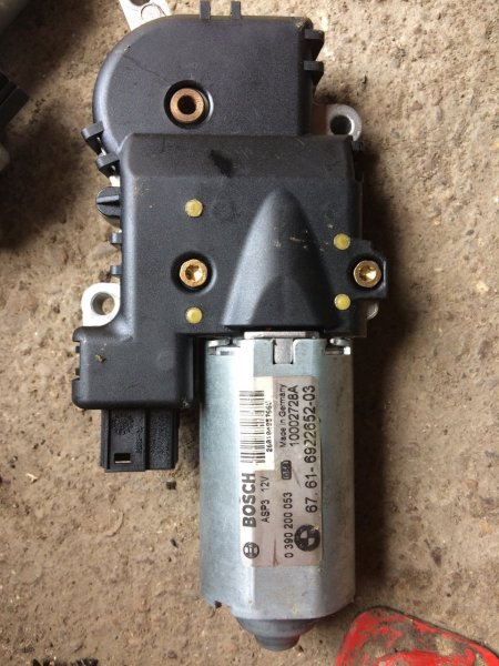 Мотор люка Bmw X5 E53 M54 2004 (б/у)