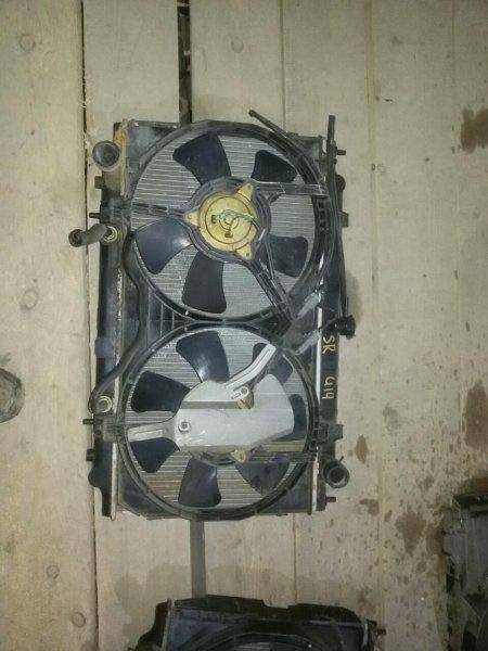 Радиатор Nissan Bluebird HU14 SR20 (б/у)